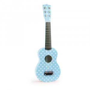 chitarra azzurra