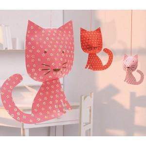 gattini di carta da appendere