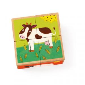 mini puzzle Mucca & co.