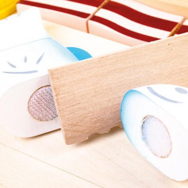 Piccola spesa giocattoli in legno for Piccola casetta in legno